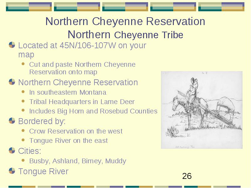 Crow Reservation Montana Map.4th Grade Montana Indian Reservations And Tribes Native American