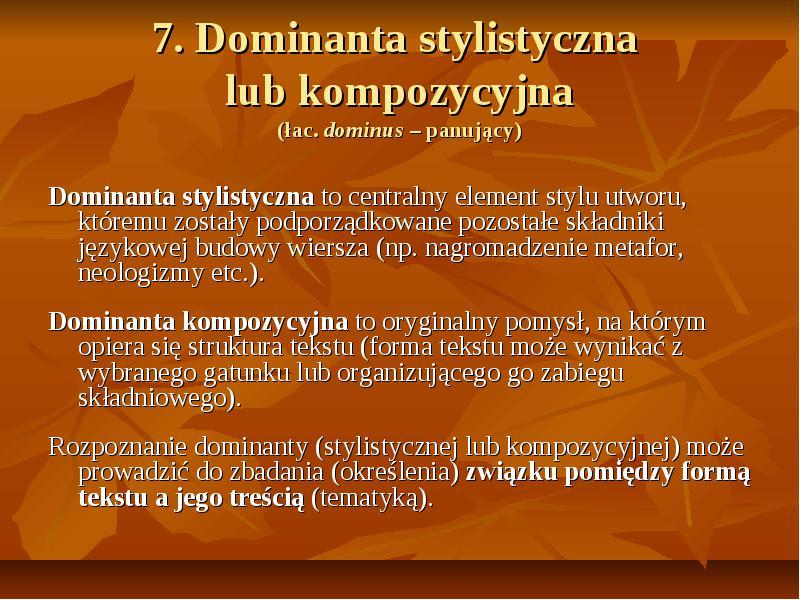 Analiza Poezji Na Maturze Niezbednik Maturzysty Polonisty