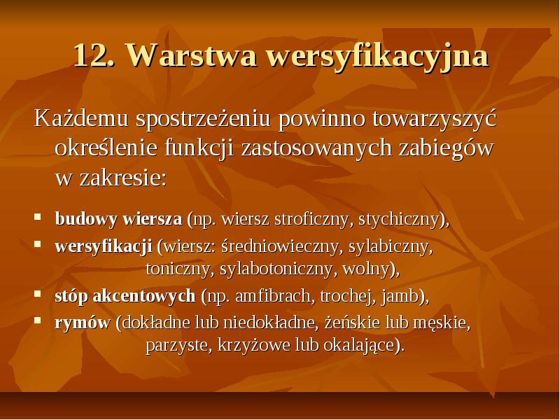 Analiza Poezji Na Maturze Niezbędnik Maturzysty Polonisty