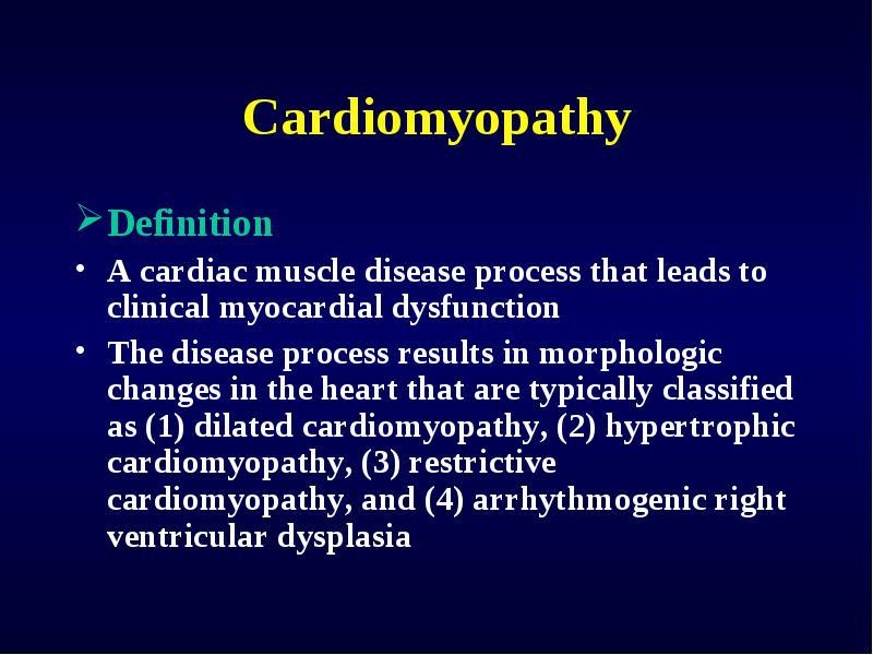 Cardiomyopathy End Stage Heart Disease Transplantation Seoul