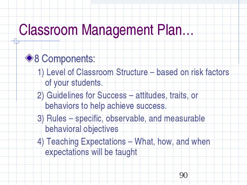 Classroom Management Strategies for Effective Instruction Keith