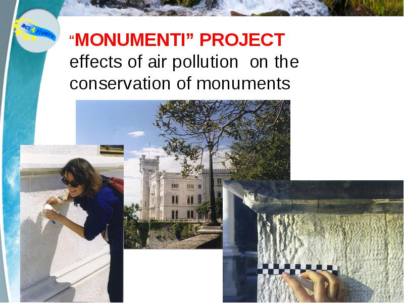 conclusion on effects of pollution on historical monuments Classification of pollution and pollutants: pollution is defined as the presence of impurities or pollutant substances in sufficient concentration levels, causing harmful effects on human beings, animals, plant life or material resources when exposed for a sufficient duration of time, thus reducing.
