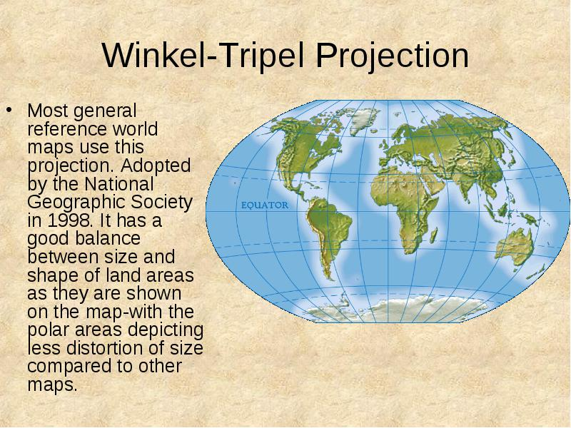 Geography skills handbook tools of geography what is geography it has a good balance between size and shape of land areas as they are shown on the map with the polar areas depicting less distortion of size compared to gumiabroncs Image collections