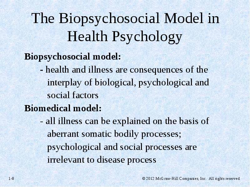 advantages of biomedical model of health