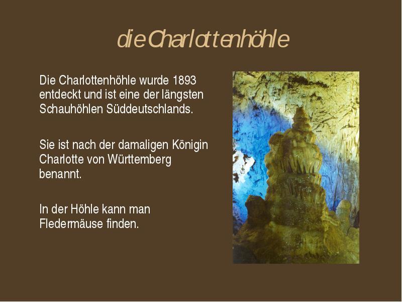höhlen giengen an der brenz