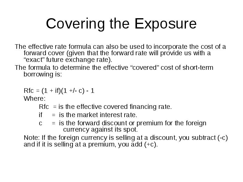 International Finance Chapter 18 Addendum: Financing and Investing