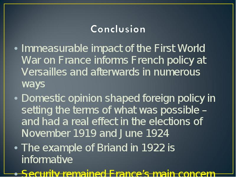 Introduction The Treaty Of Versailles
