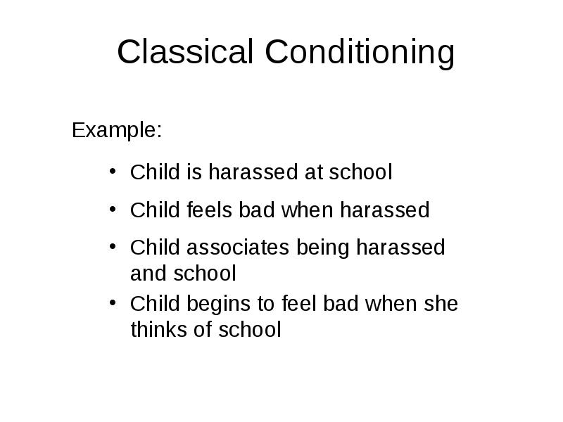 classical conditioning and collier From: michael collier's show by michael collier 0 0 about 1 year ago.