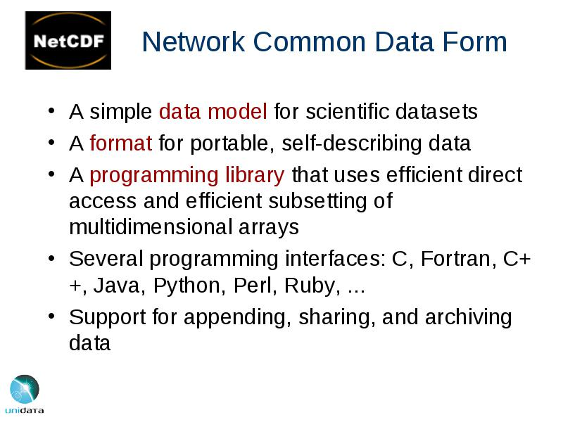 Software for Improving Scientific Data Access Infrastructure Russ