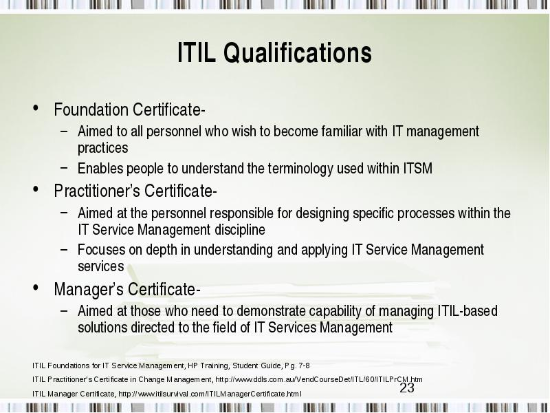 Standards And Compliance Issues Including Cmm Iso Itil