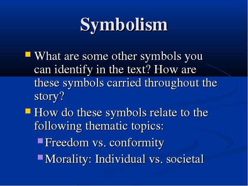 Symbolism In Huck Finn Class Discussion And Analysis