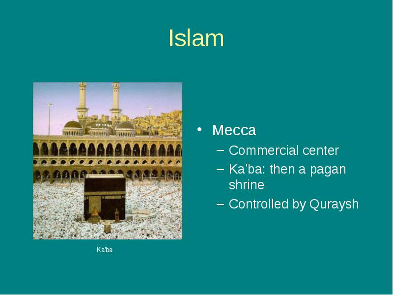 compare and contrast the islamic religion to christianity