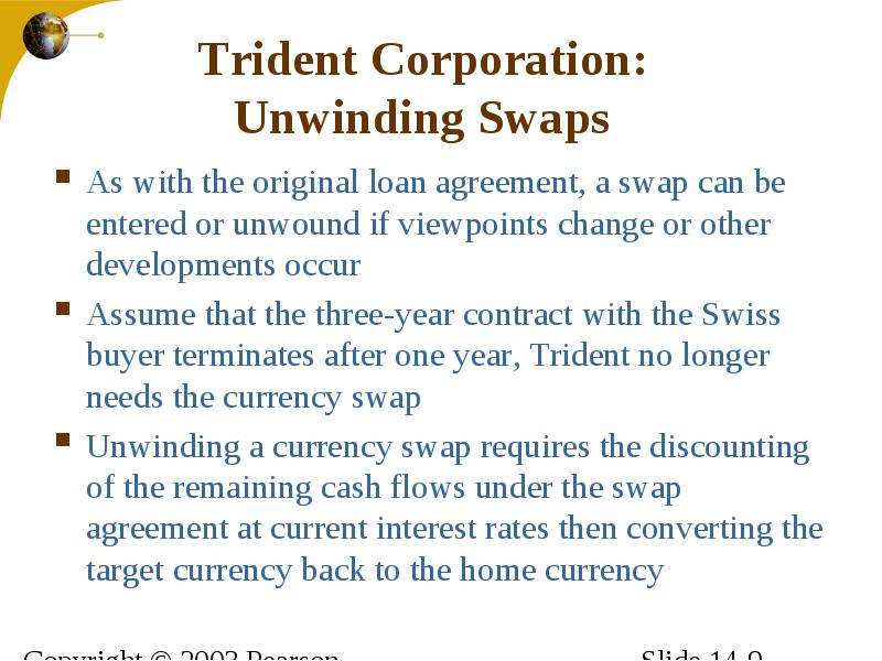 Trident Corporation Swapping To Fixed Rates Maria Gonzalez