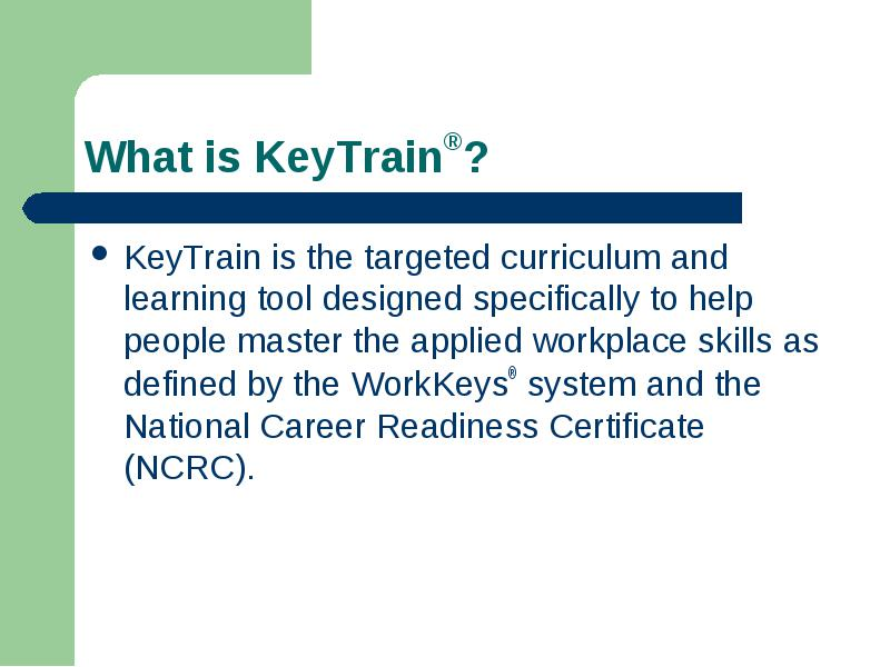 Wisconsin Job Service National Career Readiness Certificate ...