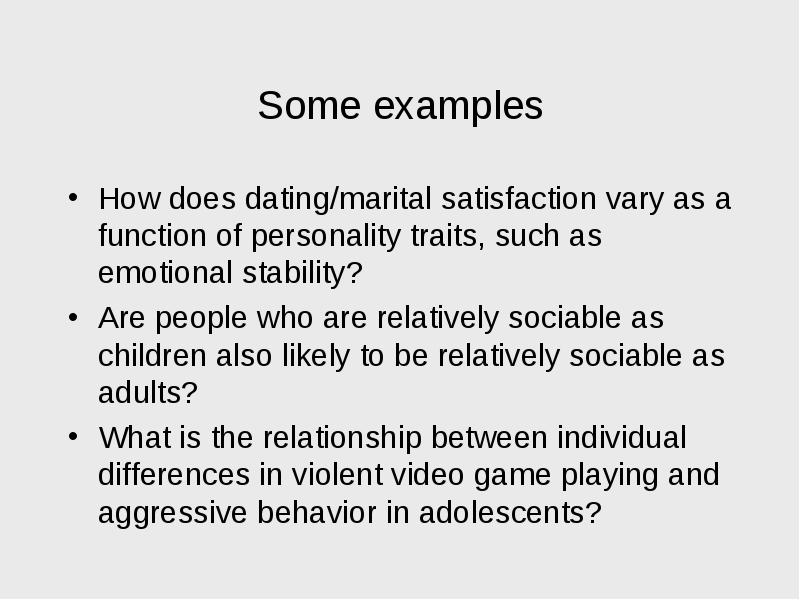 a study of the relation of violent video games to aggressive behavior It found a consistent relation between violent game use and aggressive behavior, it said in a statement while there is some variation among the individual studies i disclosed all of my activities in the video game and aggression area at the beginning of the apa task force work, and i kept.